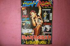 MAGAZINE HEAVY ROCK 195 FOO FIGHTERS NIN / POSTER IRON MAIDEN  R