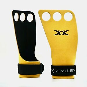 Reyllen™ Picsil Bear Komplex Gymnastic Carbon Leather Grips CrossFit Glove
