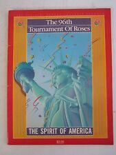 1985 TOURNAMENT OF ROSES OFFICIAL PROGRAM - 96TH - SEE PICS - TUB QQQQ
