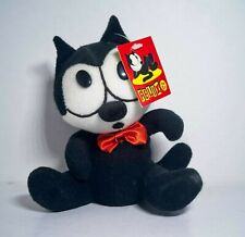 "Felix the Cat Plush 6"" bean bag with tag"