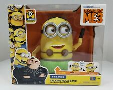 Despicable Me 3 Deluxe Talking Hula Dave Minion Toy Action Figure Doll