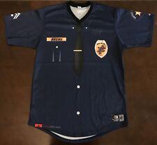 Rare Inland Empire 66ers Zach Wright Police Appreciation Night Baseball Jersey