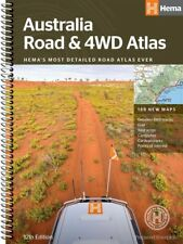 Australia Road and 4WD Atlas New 12th edition