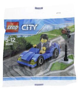 Lego City 30349 Sports Car Polybag Vehicle And Minifigure Set NEW