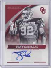 2016 Panini Collegiate Oklahoma Autograph Tony Casillas Auto - Flat S/H