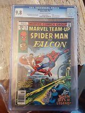 Marvel Team-Up 71 1978 CGC 9.8 Spider-Man Falcon Captain America Ernie Chan