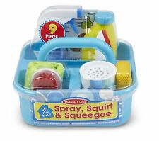 Pretend Play Cleaning Spray Squirt Kids Learning Caddy Toddler Toys Mix Set NEW