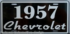 1957 57 CHEVROLET LICENSE PLATE CHEVY 150 210 BEL AIR NOMAD CONVERTIBLE GASSER