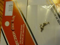 Precision Scale HO #3370 Marker Lamps Less Chimney, Cored for Bulb (Brass)