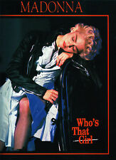 Madonna Who's That Girl card print from Heroes (UK)