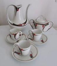 SERVICE A CAFE PORCELAINE ART NOUVEAU MAURICE DUFRENE (1876-1955) LE PARTHENON P