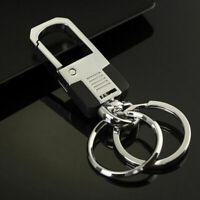 Chain Creative Keychain Keyring Ring Metal Luxury Key Cool Gift Keyfob Car Men