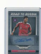 2018 PANINI PRIZM WORLD CUP DAVID ALABA AUSTRIA AUTO