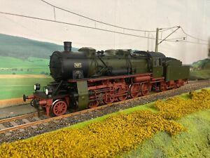 Märklin 55581 Spur 1 Dampflok BR 58 neu lackiert 5697 KPEV Unikat digital Sound