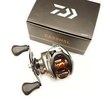 Daiwa CA80 7.5:1 Left Hand Compact Baitcast Fishing Reel - CA80HSL