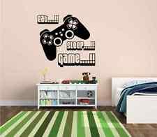 Eat Sleep Game vinyl wall art stickers,gamer xbox ps3 Bedroom Boys Girls Decal 1