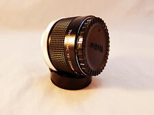 Vivitar MC 75-205mm 2X Matched Multiplier For Canon FD~ Nice with Both Caps!
