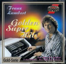 FRANZ LAMBERT : GOLDEN SUPER HITS / CD - TOP-ZUSTAND