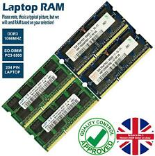 2GB 4GB 8GB Memory RAM Laptop PC3-8500 DDR3 1066MHz 204 Non-ECC Unbuffered Lot