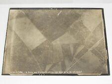 02E17 PHOTOGRAPHIE AÉRIENNE 14/18 PHOTO AVION VUE BOIS DES CHAUFOURES 1918 WWI