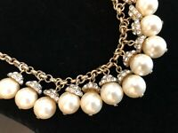 J.Crew Factory PEARL ACCENT NECKLACE! Nwt New$59.50 Pearl
