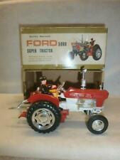 CLIFFORD TOYS FORD 5000 SUPER TRACTOR BATERY OPERATED PLASTIC HONG KONG MADE