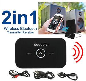 2 In 1 Wireless Bluetooth Trasmettitore E Ricevitore Audio Adattatore A2DP S3K3