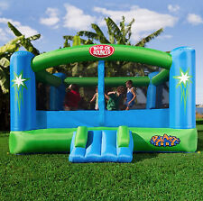Blast Zone Bounce House Commercial Grade For Kids With Slide Outdoor Backyard