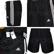 Adidas Chelsea Shorts Essential 3 Stripe Shorts Men's Climalite Gym Shorts S-2XL
