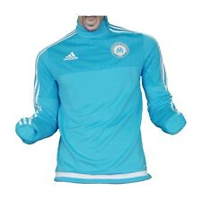 Olympique Marseille Trainingstop Sweatshirt Blue 2015/16 Adidas Gr. S