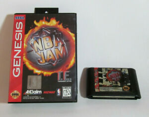 NBA Jam T.E. (Sega Genesis, 1995) & NBA Jam Fun Basketball Games Good Shape