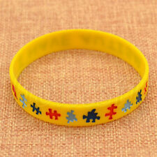 I Have AUTISM Wristbands Alert Medical ID Silicone Bracelet Emergency Cuff 1PC