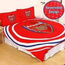 Arsenal FC Impulsion Set Housse de Couette Double Réversible Football Literie