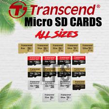 Micro SD Card Transcend 8gb 16gb 32gb 64gb 128 GB MicroSD lot Fast MBs Memory