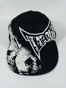 Tap Out Tek & Flex Men's Hat U.S. White/Black Cap Patent #6625818 Size S/M NWOT