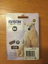 Epson 26 Photo Black Inkjet Cartridge / C13T26114012