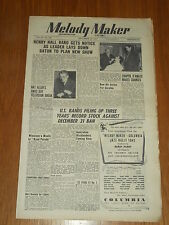MELODY MAKER 1947 #749 DEC 13 JAZZ SWING HENRY HALL GERALDO NAT ALLEN D'AMATO