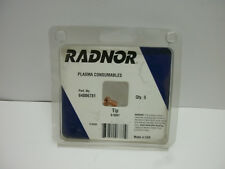 RADNOR 9-6001 PLASMA CUTTING TIP 35 AMP FOR PCH28 (1-PKG. OF 5) NEW IN BOX