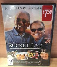 The Bucket List | DVD | NEW | Ships 1st Class