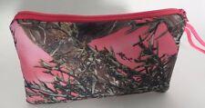 mossy oak breakup real tree camo smartphone wristlet pink phone case camouflage