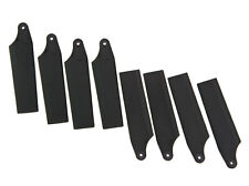 4 Pairs Plastic 450 Tail Rotor Blade For T-REX 450 GF V2 SPORT PRO Black