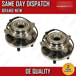 REAR WHEEL BEARINGS HUBS + ABS FOR LAND ROVER DISCOVERY 2 2.5 TD5 4.0 V8 PAIR X2