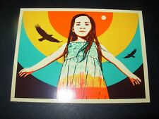 ERNESTO YERENA Sticker decal INDIGENOUS ROOTS like poster print Shepard Fairey
