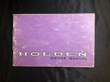 Holden owner manual, 1970, auto, Australia, automobilia, collectable, vintage