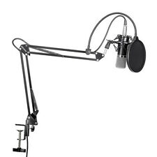 Professional Condenser Mic Microphone Studio Sound Recording With Arm Stand Set*