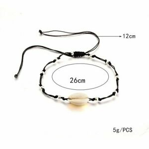 Boho Stainless Steel Shell Ankle Bracelet Women Foot Jewelry Chain Beach Holiday
