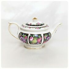 """Collectible Teapot - """"Bacchus"""" from the Heirloom Collection by James Sadler Patt"""