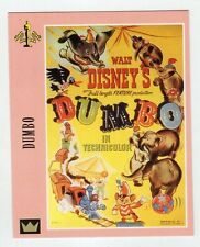 Figurina SUPERCINEMA EVENTS MAXI CARDS NUMERO 29 DUMBO