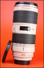 * Anon EF 70-200 mm MK II Stabilisateur d'image F2.8 L IS USM Zoom Lens + ET-87 Capuche