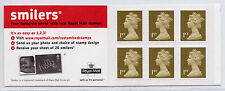 Gb 2005 6 x 1st Class Self Adhesive Stamps Cylinder W3 Booklet Mb4a Baby